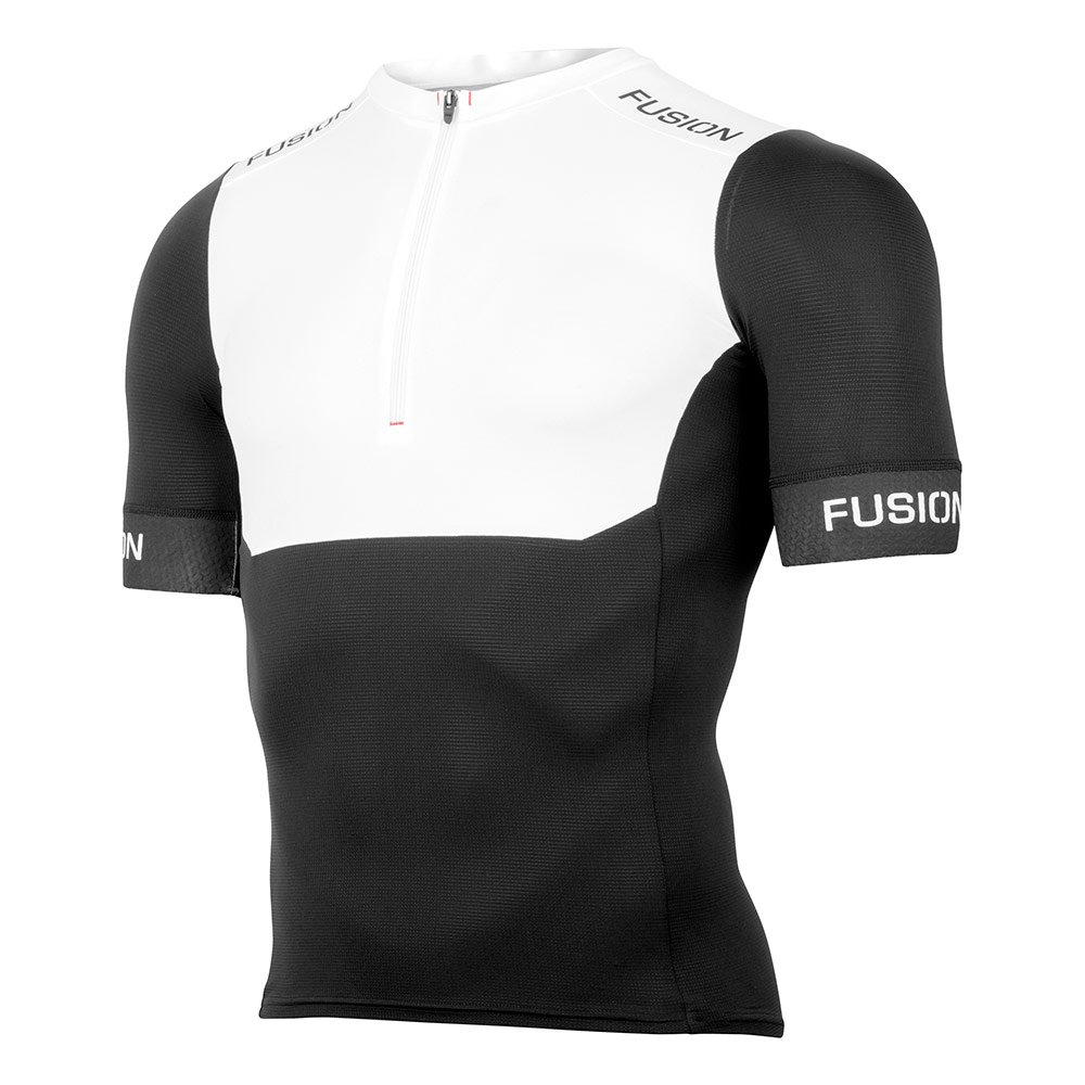 Fusion SLi Tri Top Shirt white/black herre