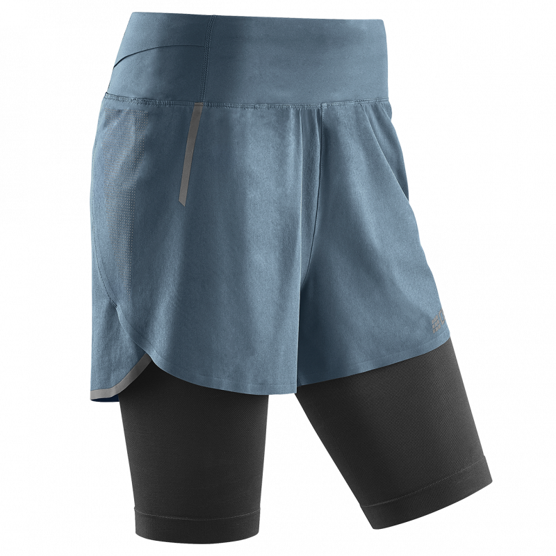 CEP Run 2in1 Shorts 3.0 Grey dame