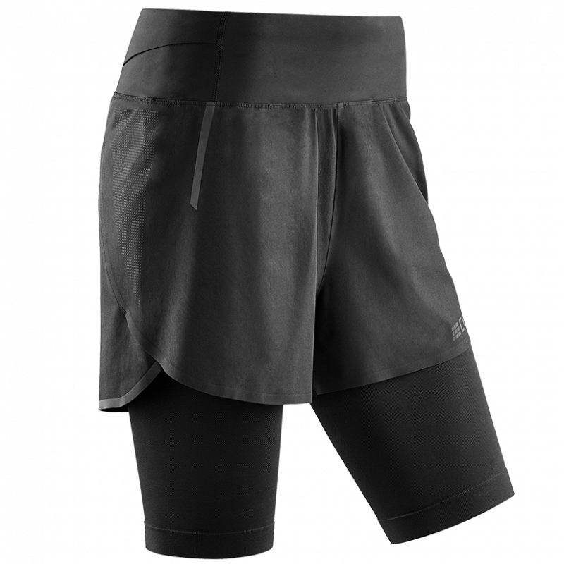 CEP Run 2in1 Shorts 3.0 Black dame