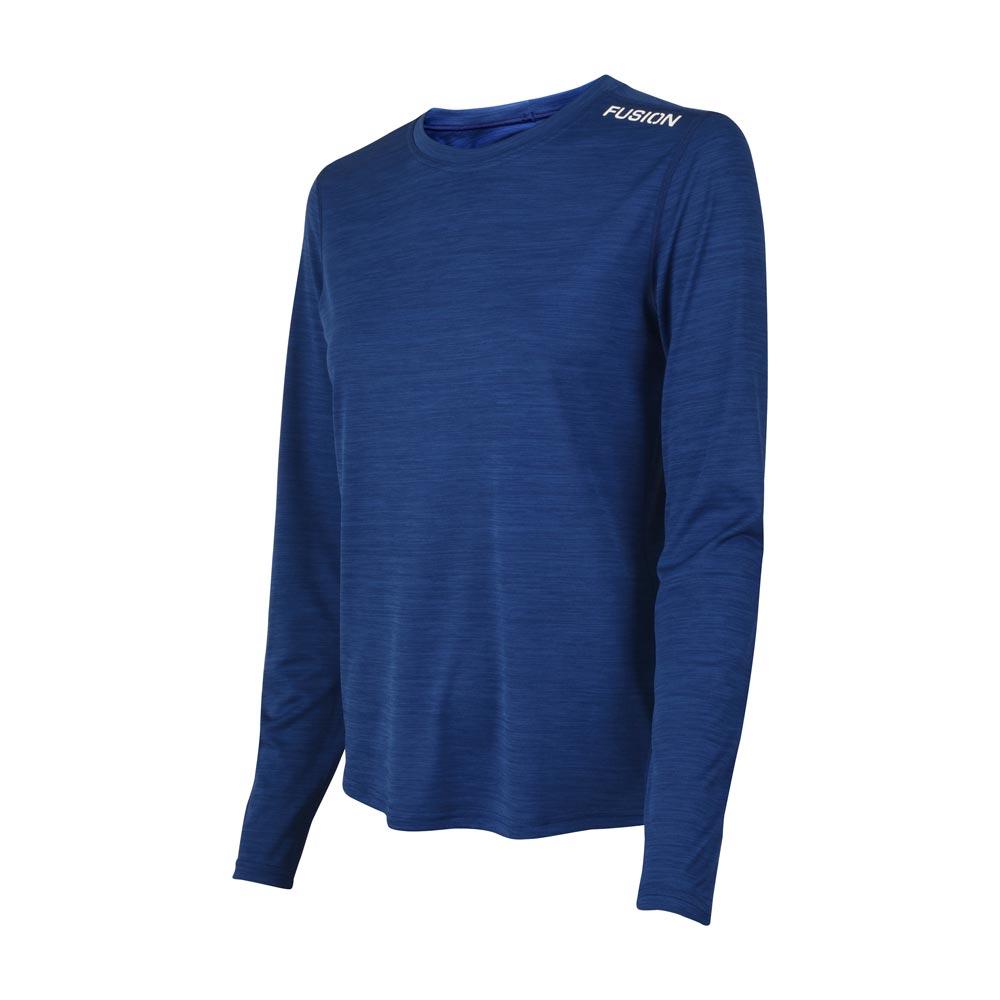 Fusion C3 LS Shirt dame Nightmelange
