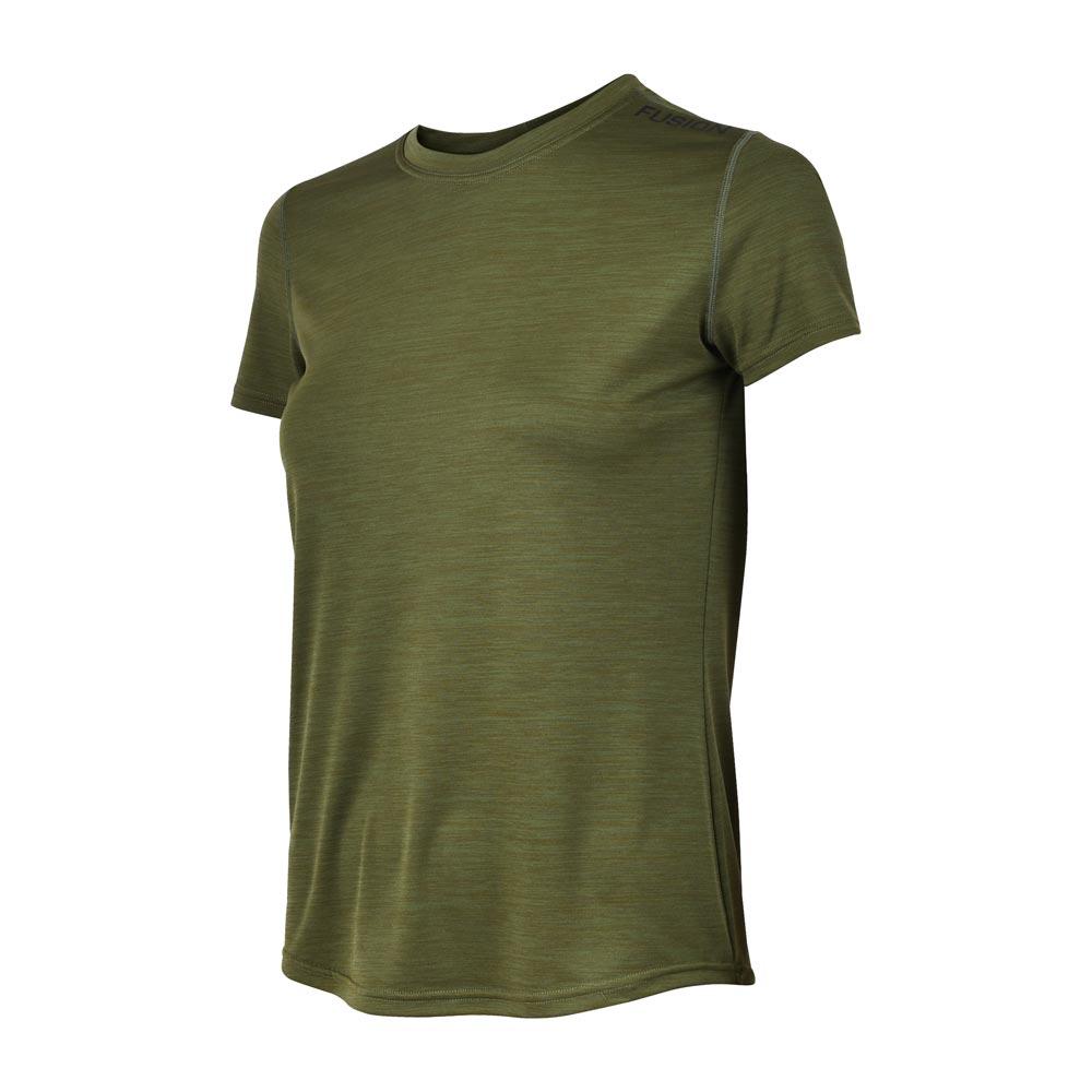 Fusion C3 T-shirt dame Greenmelange