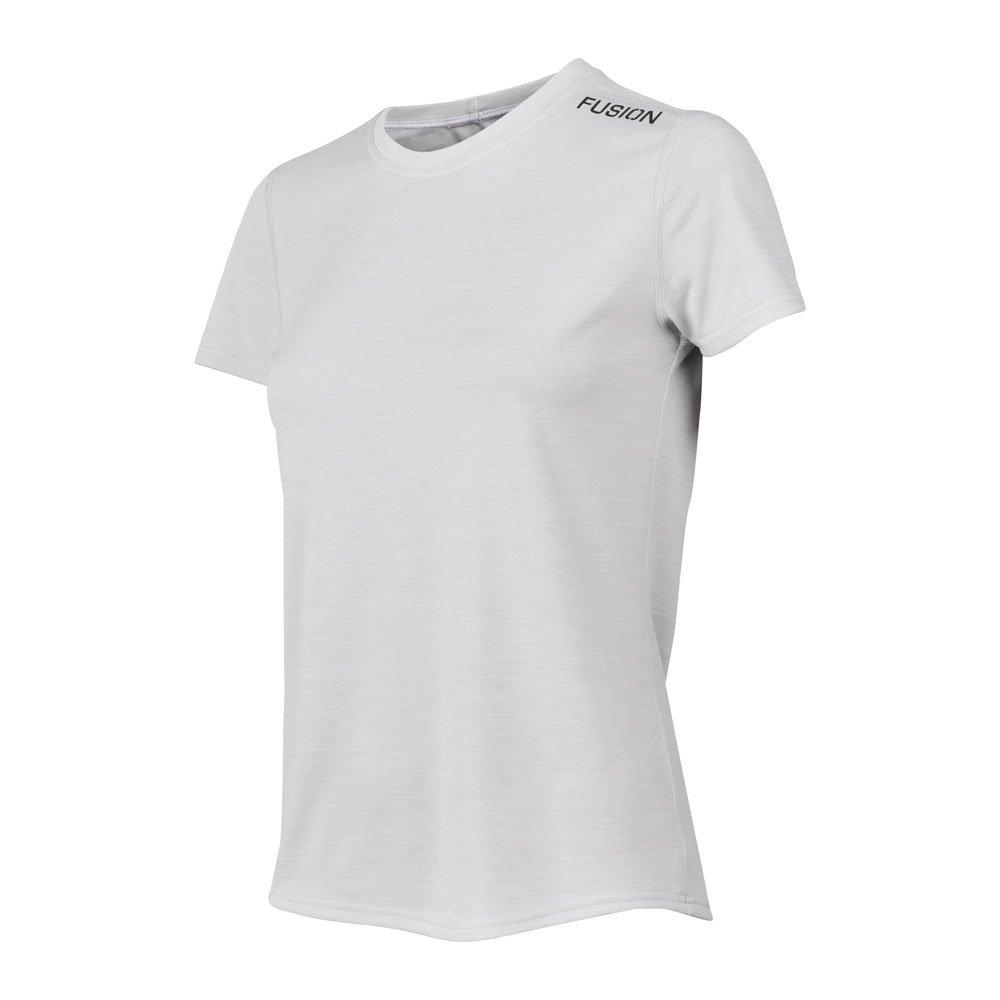 Fusion C3 T-shirt dame Whitemelange