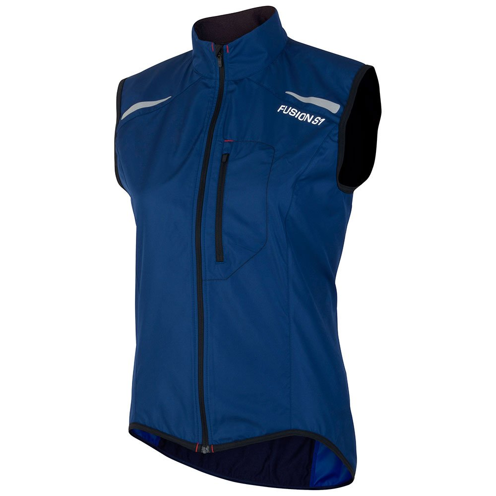 Fusion S1 Run Vest dame Night/Black