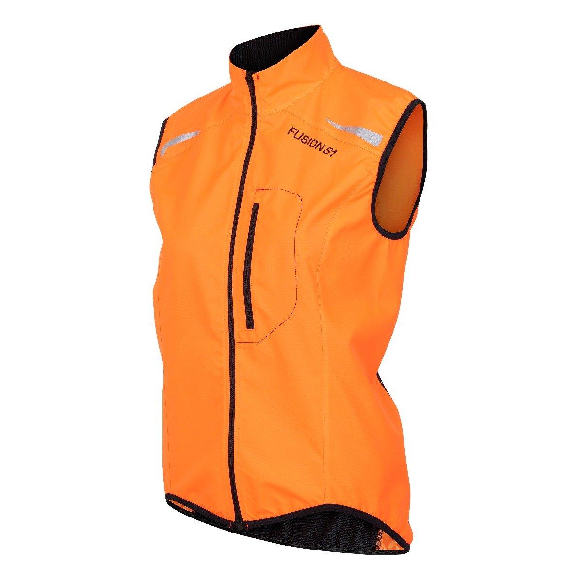 Fusion S1 Run Vest dame Orange