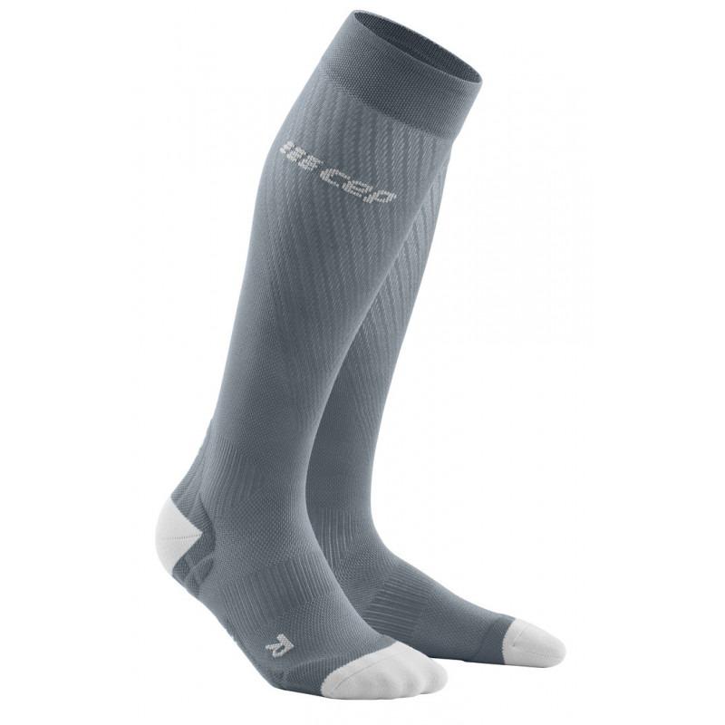 CEP Run Ultralight Socks, grey/light grey, women