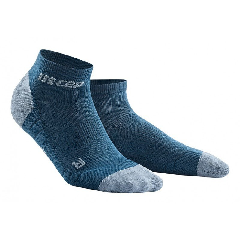 CEP low cut socks 3.0, blue/grey, women