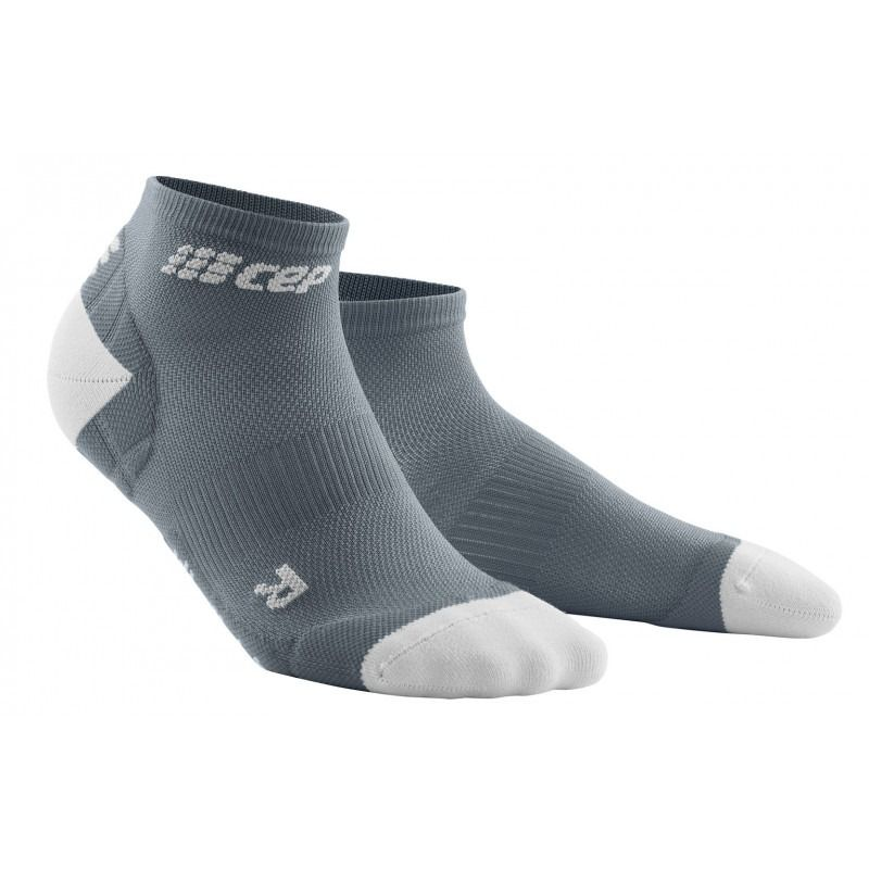 CEP Ultralight Compression Short Socks, grey dame