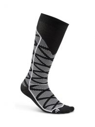 Craft Compression Pattern Sock Black/White
