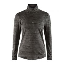 Craft Grid Halfzip Black dame