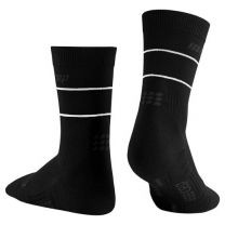 CEP Reflective Mid Cut Socks dame