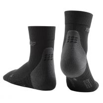 CEP Ultralight Compression Short Socks, black herre