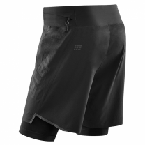CEP Run 2in1 Shorts 3.0 Black herre