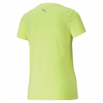 Puma Run Logo SS Tee Yellow dame