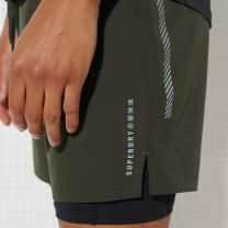 Superdry Double Layer Short Herre