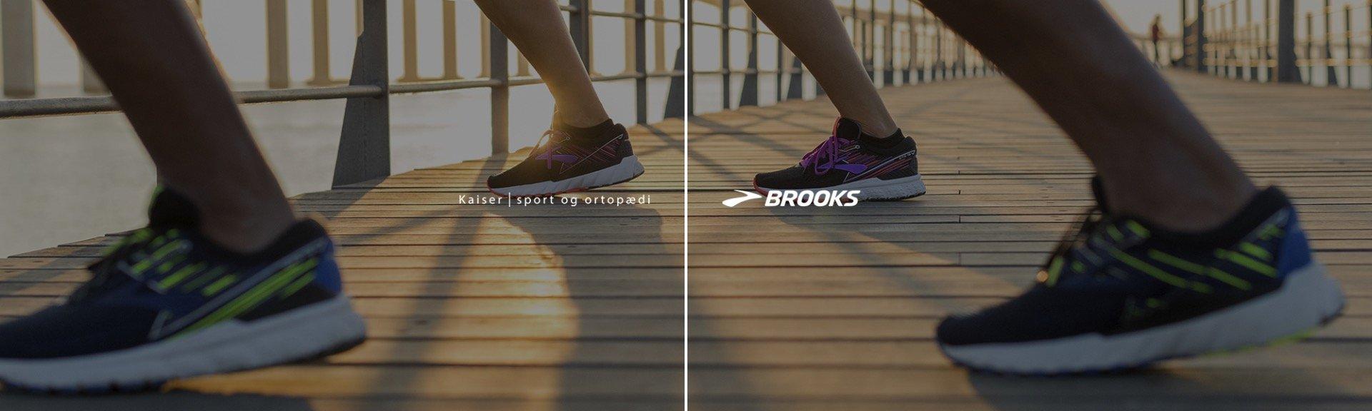 Køb Brooks løbesko til dame og herre på kaisersport.dk med fri fragt og 365 dages retur