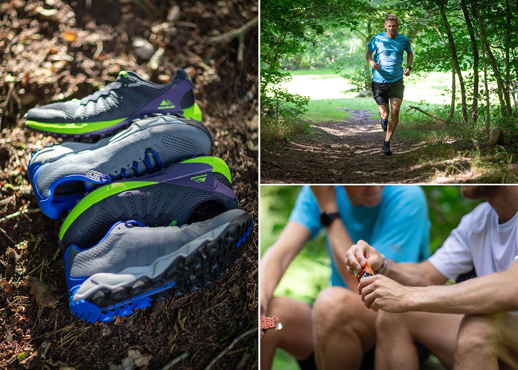 Gode walking og gåsko meds støtte mod ømme fødder