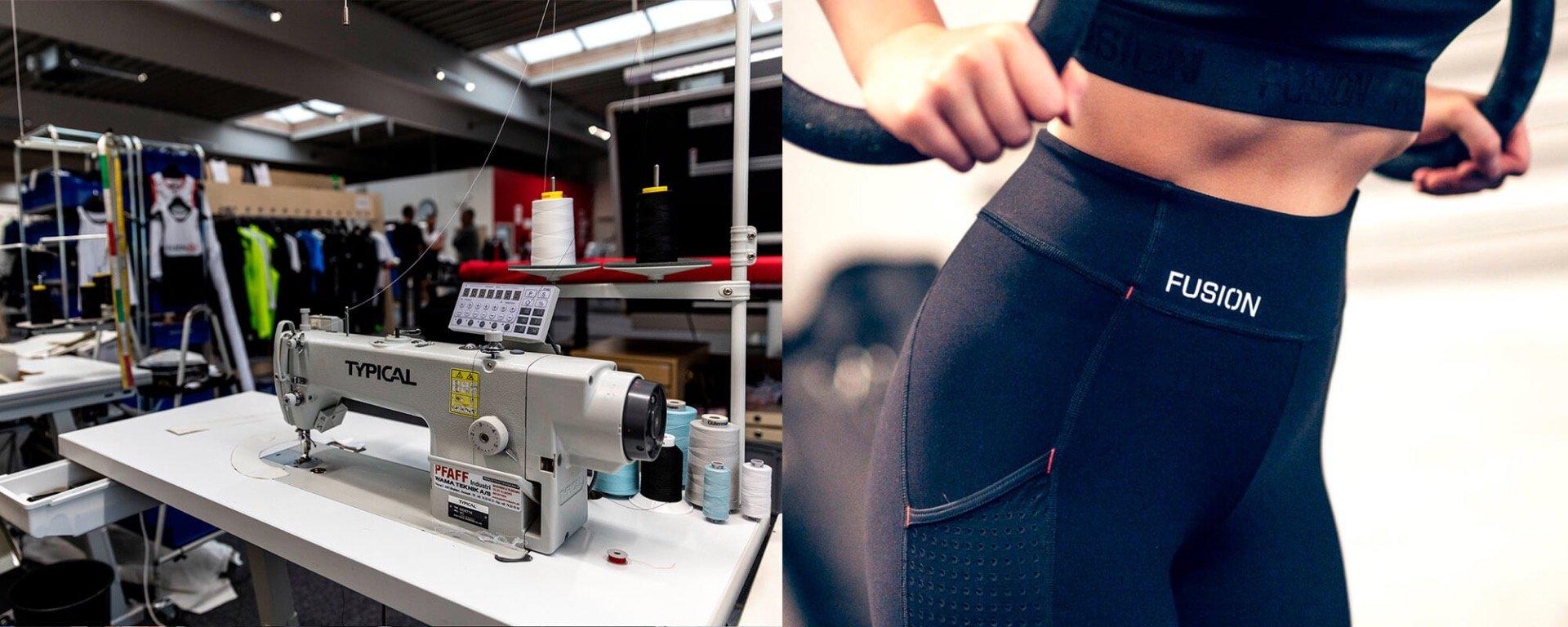 Køb FUSION løbetøj, cykeltøj og tri-tøj online med fri fragt på kaisersport.dk