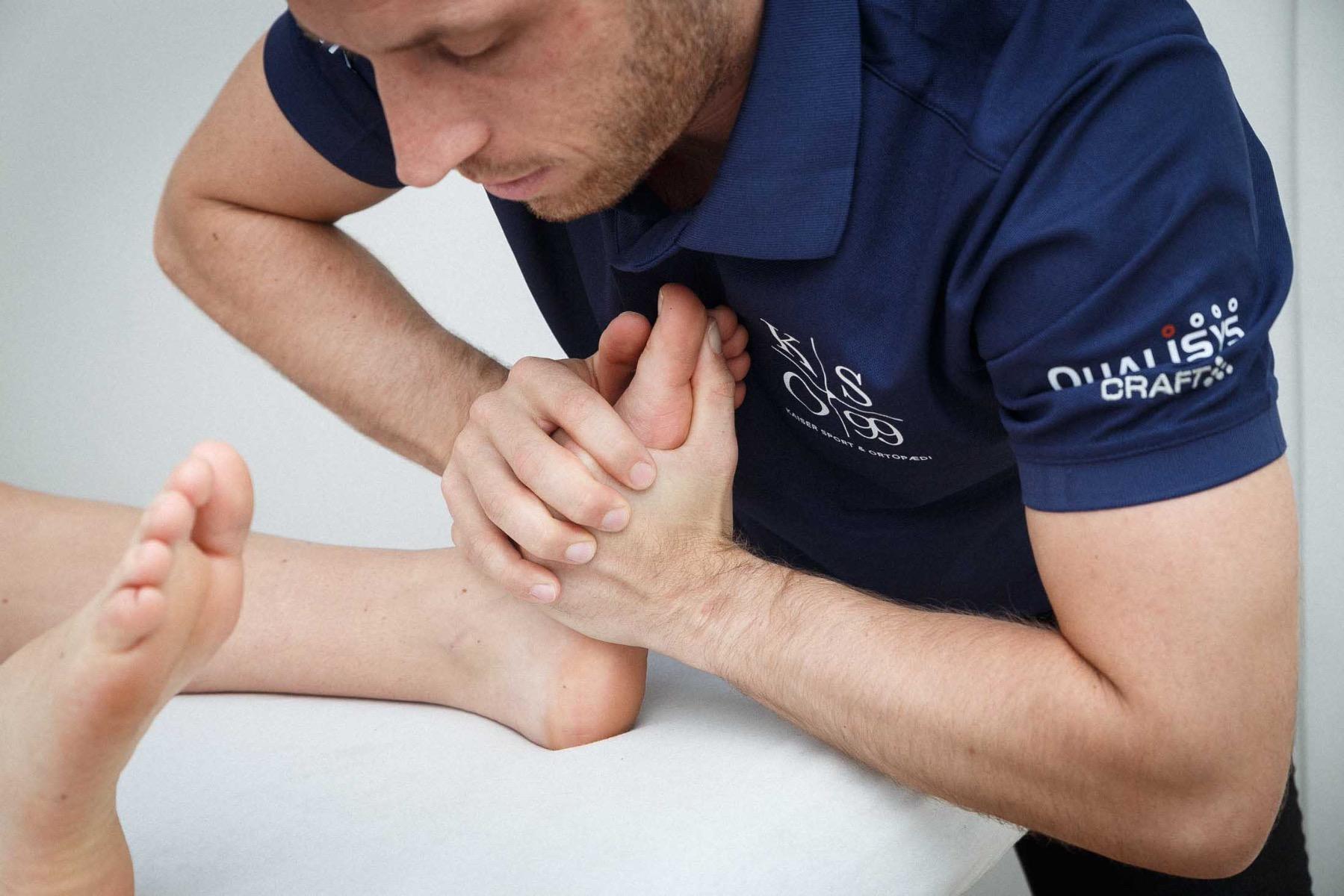 Træningsøvelser der styrker din forfod, hælspore, svangsenebetændelse, kaiser sport