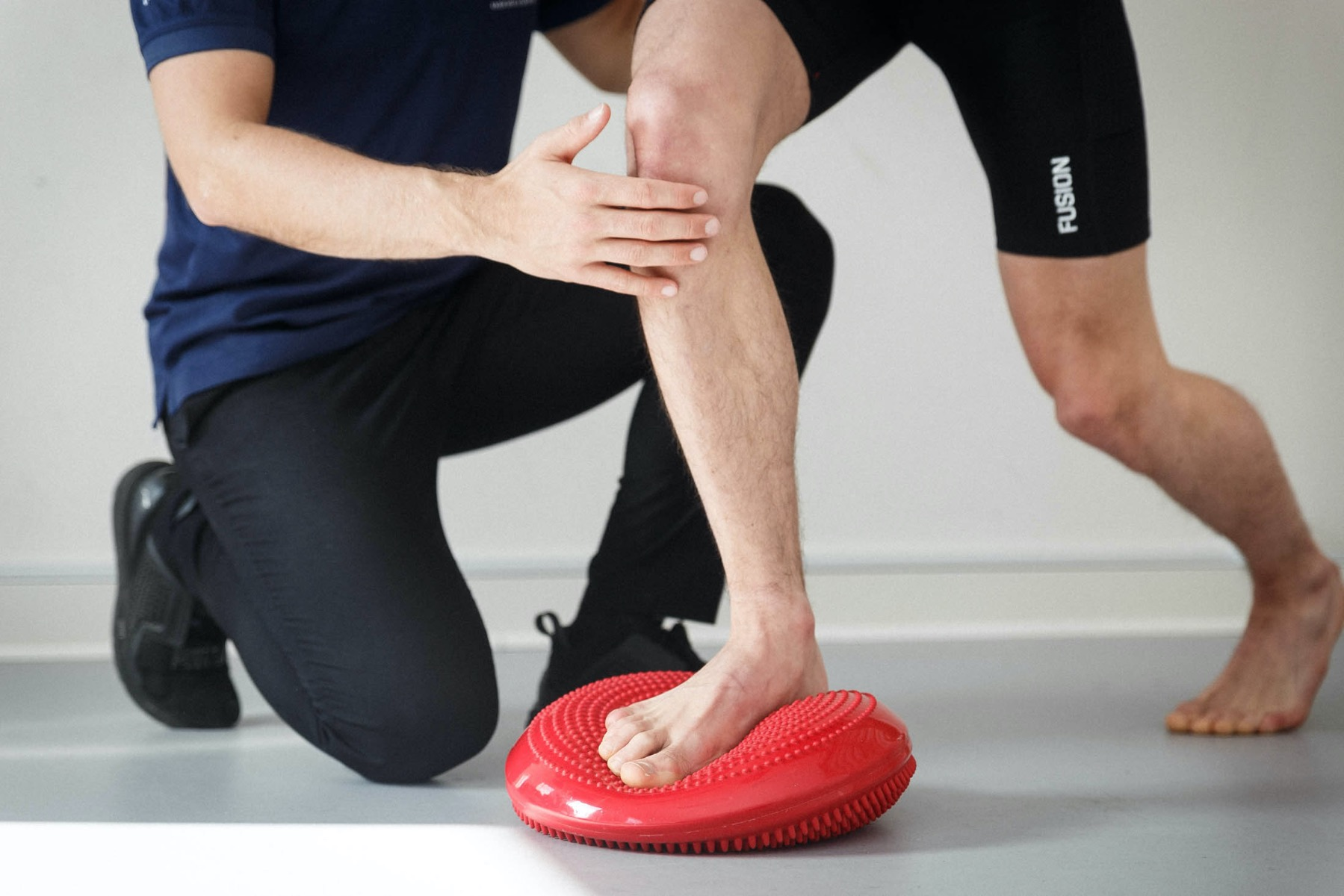 Træningsøvelser mod skinnebensbetændelse