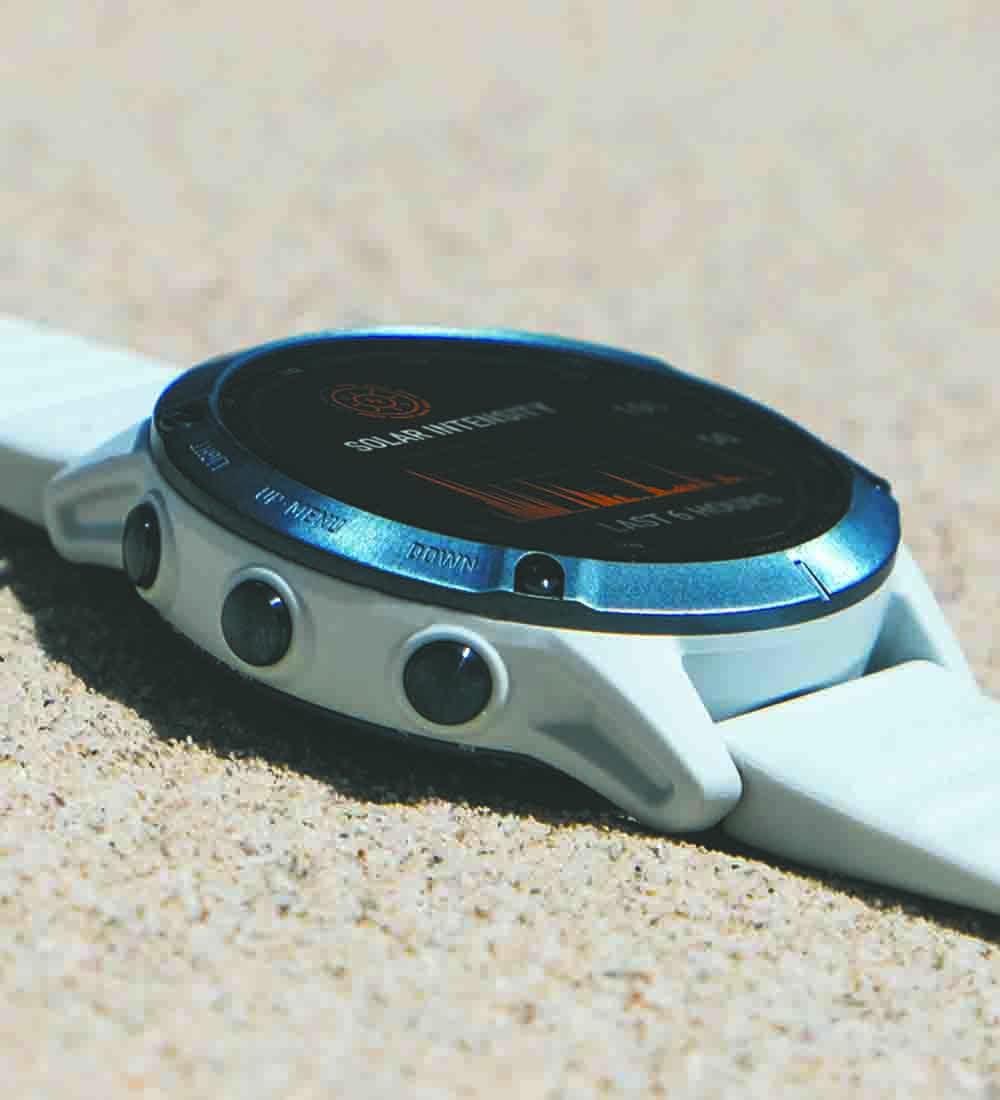 GARMIN-ure med solopladning