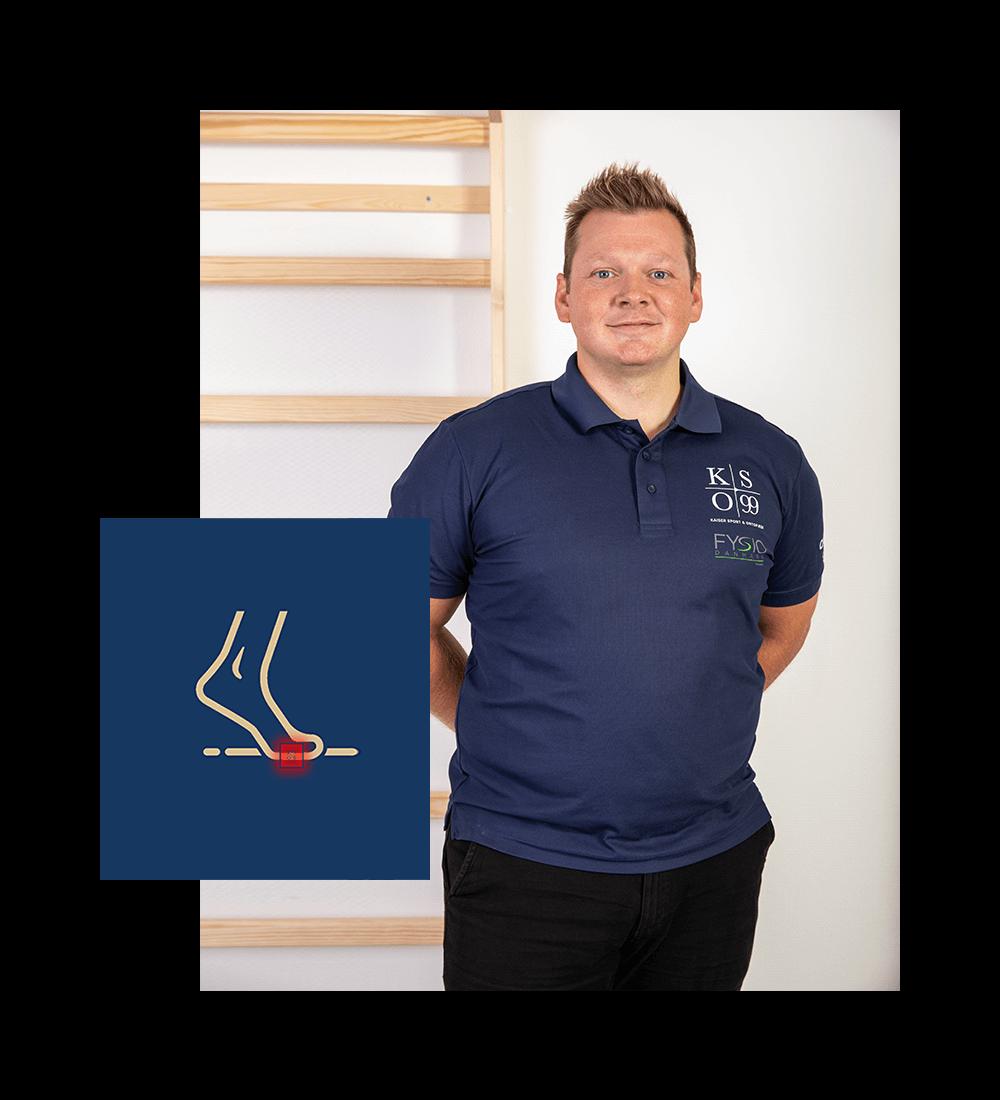 Behandling af nedsunken forfod I Horsens Kaiser Sport & Ortopædi