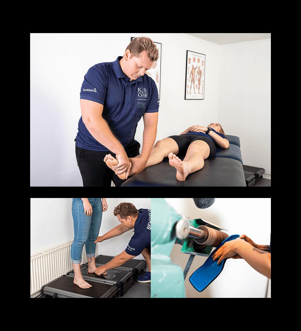 Behandling af forfodsfald nedsunken forfod med ortopædiske indlæg i Horsens kaiser sport & ortopædi - fysiodanmark