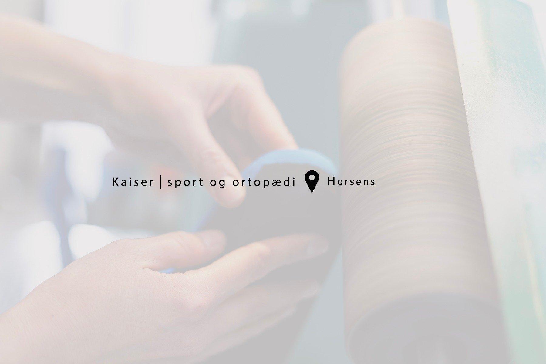 Book tid til køb af løbesko i Kaiser Sport og Ortopædi i Horsens