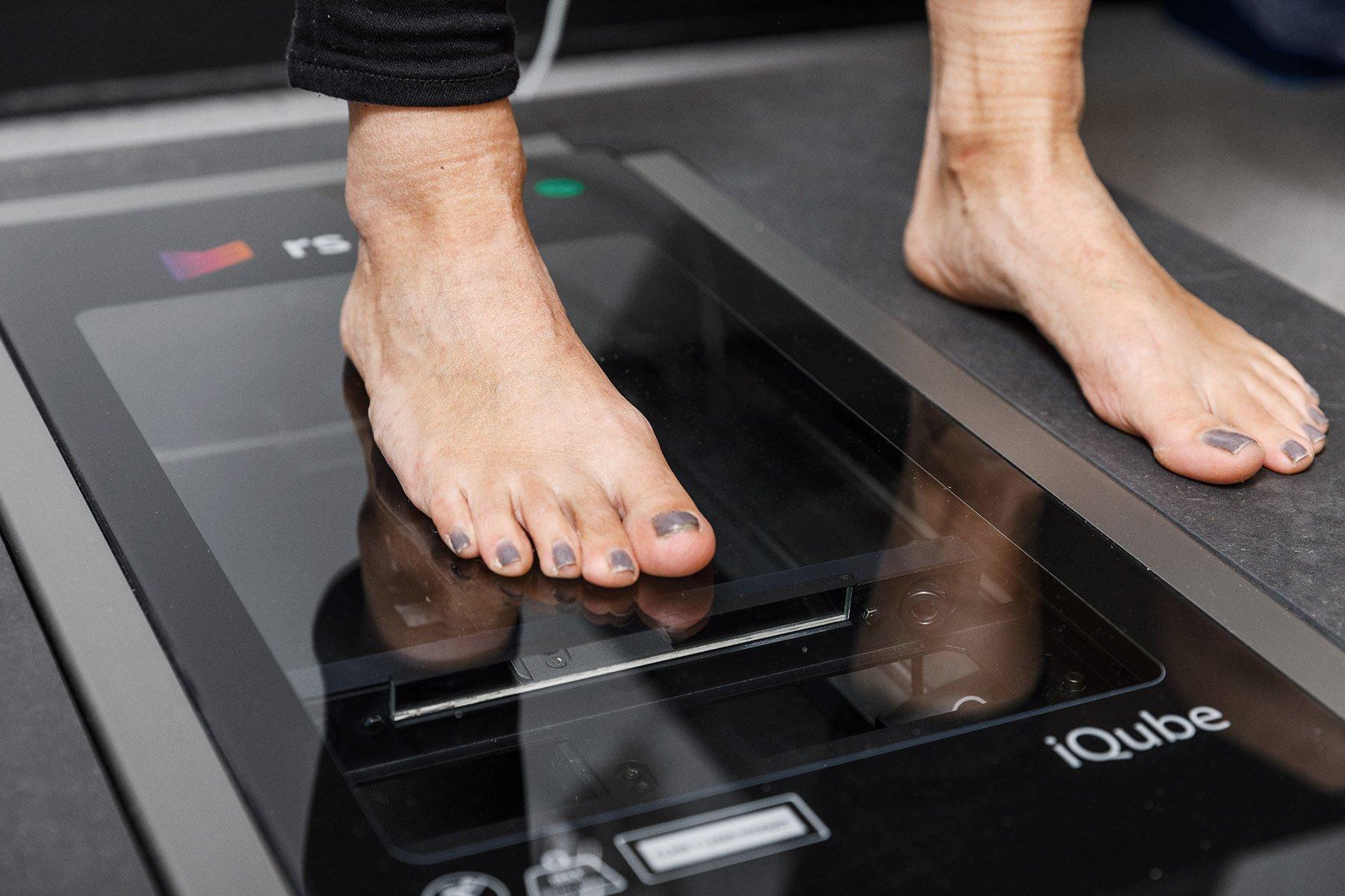 Scanning af fod